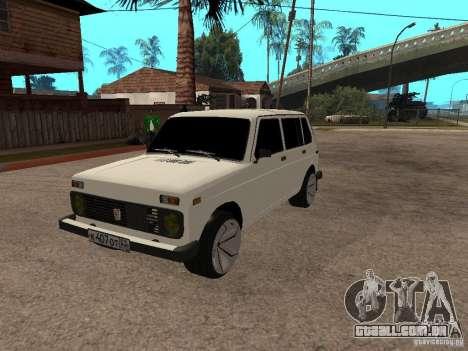 VAZ 2131 para GTA San Andreas vista interior