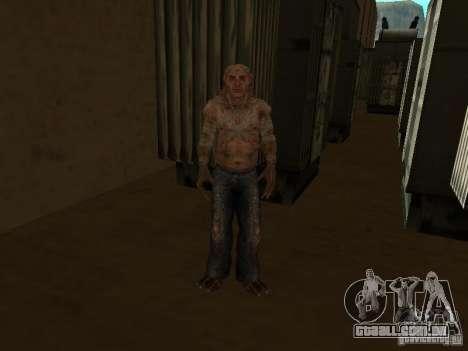 Controlador de STALKER para GTA San Andreas segunda tela