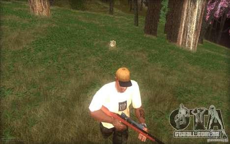 Spring Season para GTA San Andreas quinto tela