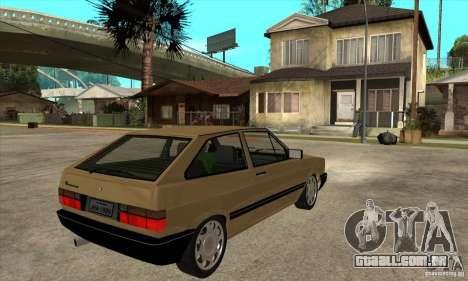 VW Gol GL 1.8 1989 para GTA San Andreas vista direita