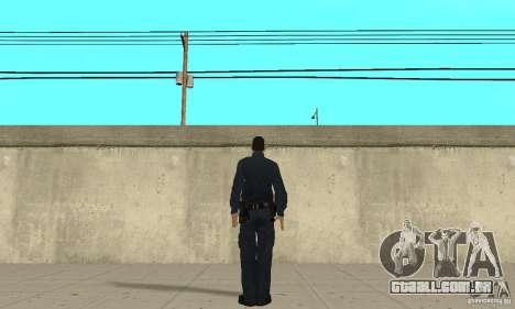 Um policial do GTA 4 para GTA San Andreas terceira tela