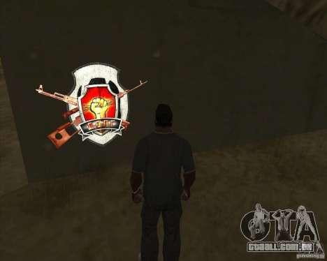 Graffiti stalkers para GTA San Andreas terceira tela
