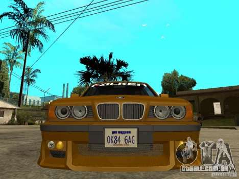 BMW e34 Drift Body para GTA San Andreas