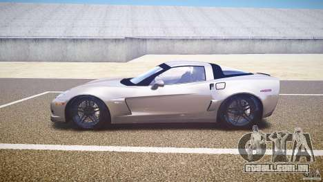 Chevrolet Corvette Z06 1.1 para GTA 4 esquerda vista