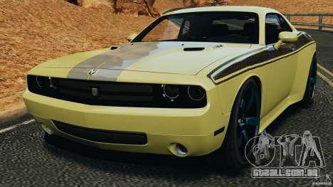 Dodge Rampage Challenger 2011 v1.0 para GTA 4