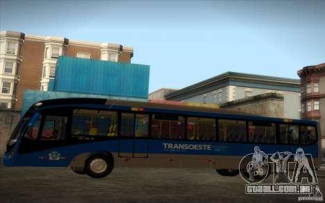 Marcopolo Viale BRT 0500M para GTA San Andreas vista direita