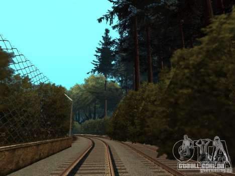 Floresta em Las Venturas para GTA San Andreas oitavo tela