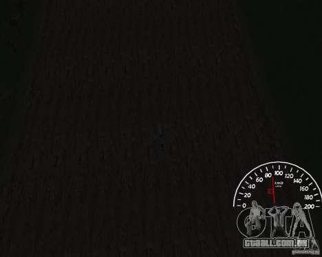 Velocímetro 1.0 para GTA San Andreas terceira tela
