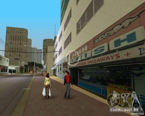 New Downtown: Shops and Buildings para GTA Vice City por diante tela