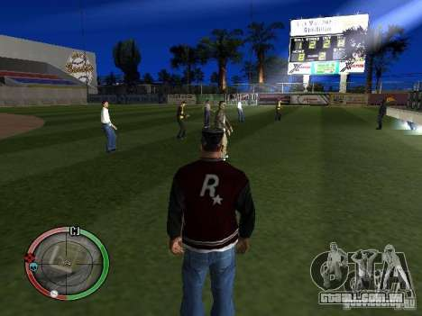 Concerto do AK-47 v2 para GTA San Andreas terceira tela