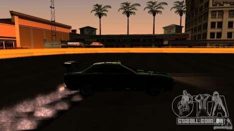Elegy v0.2 para GTA San Andreas vista traseira