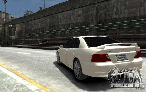 Mitsubishi Galant 8 VR-4 para GTA 4 traseira esquerda vista