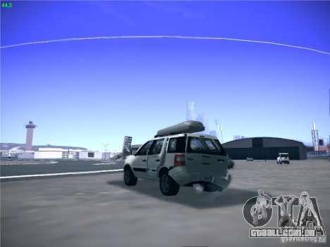 Ford EcoSport 2008 para GTA San Andreas vista direita