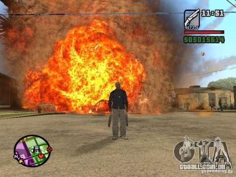Overdose effects V1.3 para GTA San Andreas sétima tela
