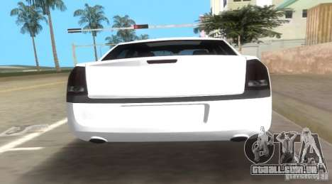 Chrysler 300C SRT V10 TT Black Revel 2011 para GTA Vice City vista traseira esquerda