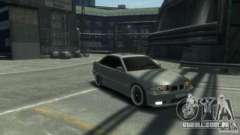 BMW 318i Light Tuning para GTA 4 traseira esquerda vista