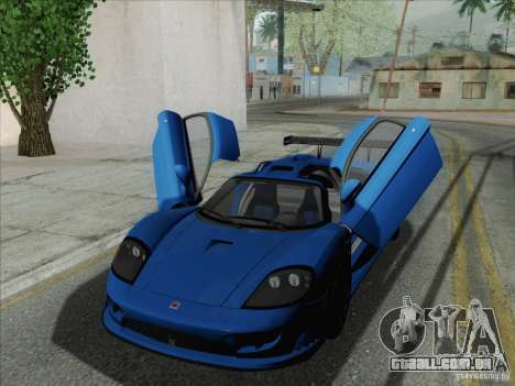 Saleen S7 Twin Turbo Competition Custom para GTA San Andreas esquerda vista