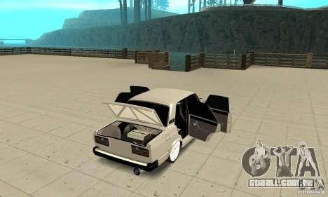 Abrir ou fechar o porta-malas para GTA San Andreas