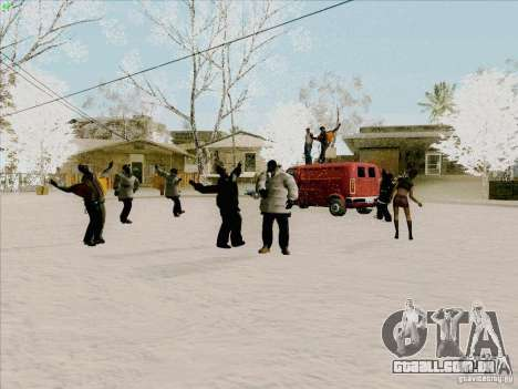 Harlem Shake para GTA San Andreas segunda tela
