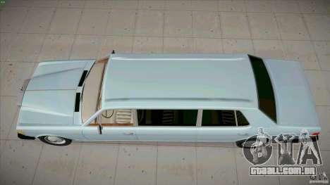 Rolls-Royce Silver Spirit 1990 Limo para GTA San Andreas vista direita
