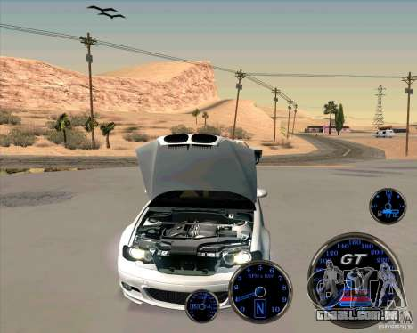 Bmw 330 Tuning para GTA San Andreas traseira esquerda vista