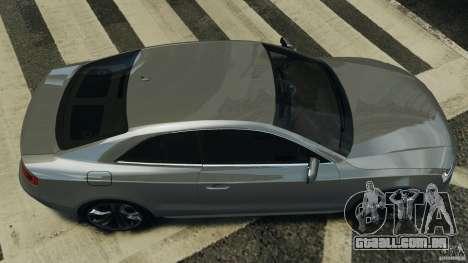 Audi S5 v1.0 para GTA 4 vista direita