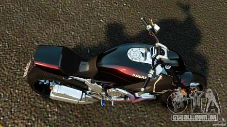 Ducati Diavel Carbon 2011 para GTA 4 vista direita