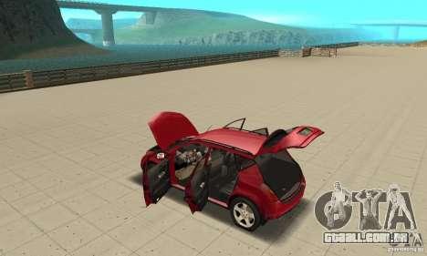 Nissan Murano 2004 para GTA San Andreas vista interior