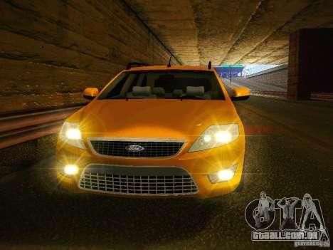 Ford Mondeo Sportbreak para GTA San Andreas vista traseira