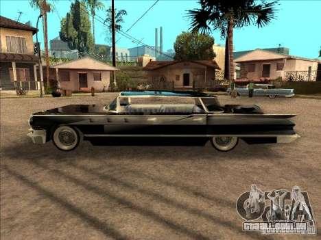 Buick Santiago para GTA San Andreas esquerda vista