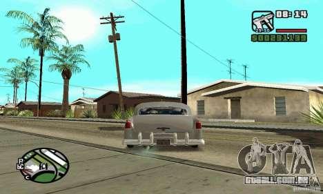 Houstan Wasp (Mafia 2) para GTA San Andreas traseira esquerda vista