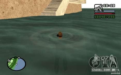 Fluxo e refluxo para GTA San Andreas por diante tela
