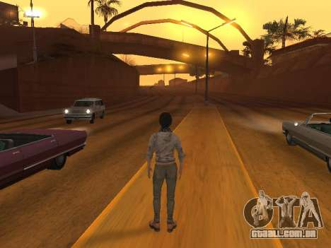 FaryCry 3 Liza Snow para GTA San Andreas por diante tela