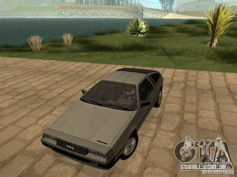 DeLorean DMC-12 1982 para GTA San Andreas