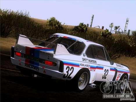 BMW CSL GR4 para GTA San Andreas esquerda vista
