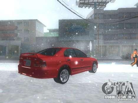 Mitsubishi Galant VR6 para GTA San Andreas vista direita