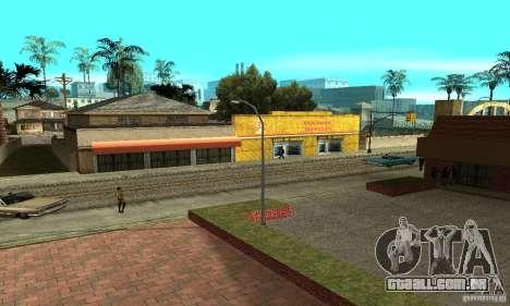 Grove Street 2013 v1 para GTA San Andreas twelth tela