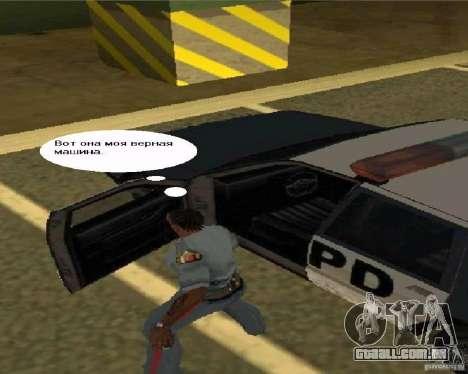 Ver TV para GTA San Andreas por diante tela