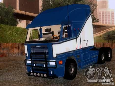 Freightliner Argosy Skin 1 para GTA San Andreas esquerda vista