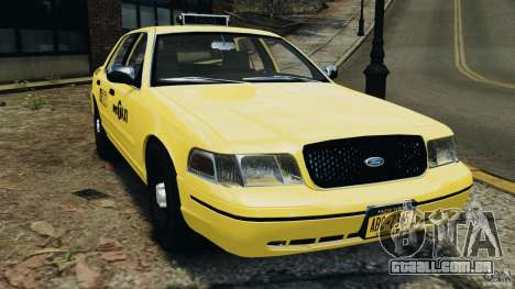 Ford Crown Victoria NYC Taxi 2004 para GTA 4