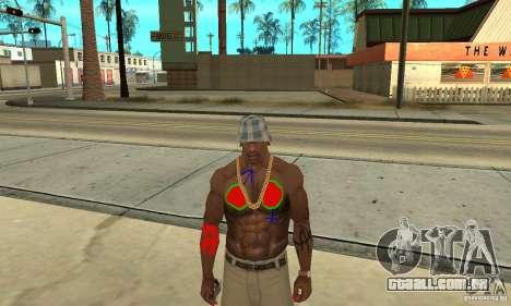 Tatuagem legal no CJ-eu no corpo para GTA San Andreas