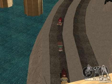Novas texturas para barragens para GTA San Andreas segunda tela