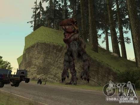 Dinosaurs Attack mod para GTA San Andreas sétima tela