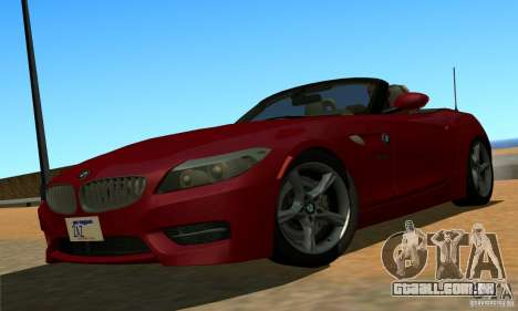 BMW Z4 2010 para GTA San Andreas