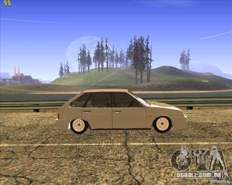VAZ 2109 Tuning para GTA San Andreas vista direita