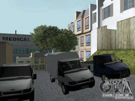 Ford Transit 2005 para GTA San Andreas