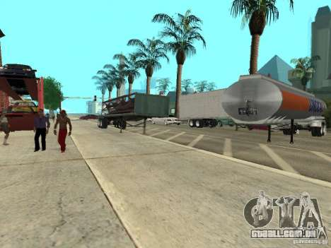 American Trailers Pack para GTA San Andreas vista traseira