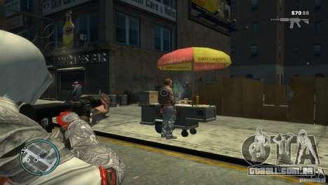 Assassins Creed BrotherHood - Ezio Auditore para GTA 4 segundo screenshot