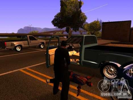 Pancor Jackhammer para GTA San Andreas quinto tela