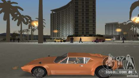 De Tomaso Pantera para GTA Vice City vista interior
